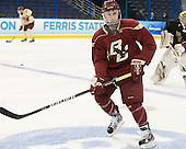 Patch Alber (BC - 3) - The Boston College Eagles practiced on Wednesday, April 4, 2012, during the 2012 Frozen Four at the Tampa Bay Times Forum in Tampa, Florida.