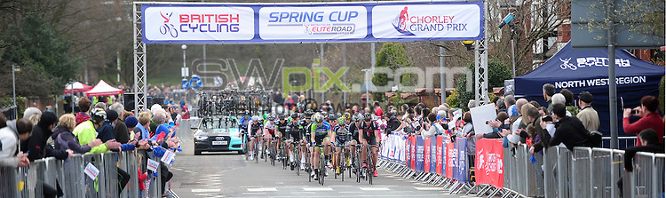 Picture by Alex Whitehead/SWpix.com - 04/04/2015 - British Cycling - Spring Cup Elite Series - Chorley Grand Prix, Chorley, England -