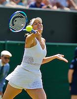 England, London, July 1, 2015, Tennis, Wimbledon,  Maria Sharapova (RUS) <br /> Photo: Tennisimages/Henk Koster