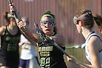 Santa Barbara, CA 02/18/12 - Sara Johnson (Colorado State #21) in action during the UC Davis - Colorado State game at the 2012 Santa Barbara Shootout.  Colorado State defeated UC Davis 10-9.
