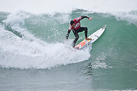 JOEL PARKINSON (AUS)   JEFFREYS BAY, South Africa (Tuesday, July 14, 2009) - With clean, consistent 1.5-2.5 metre waves steaming through Jeffreys Bay today, competition was called on for the Billabong Pro Jeffreys Bay, with the first heats hitting the water at 7:45am.      Stop No. 5 of 10 on the 2009 ASP World Tour, the Billabong Pro Jeffreys Bay is running the new competition format, featuring elimination man-on-man matches from the outset, with yesterday seeing the completion of Round 1 as well as the opening two heats of Round 2.    Today Round 2 was completed along with four heats of Round 3. Standout surfing came from defending champion KELLY SLATER (USA), current world number 1 JOEL PARKINSON (AUS)  and MICHEL BOUREZ (PYF) who defeated Australian surfer and former winner  MICK FANNING (AUS).    Photo: joliphotos.com