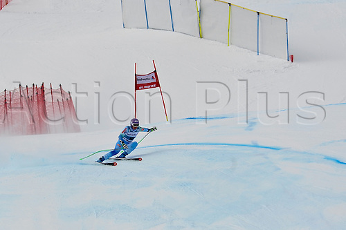 25.01.2015. St. Moritz, Switzerland Tina Maze of the SLO competes during the Audi FIS Ski World Cup Women's Super G  in St. Moritz