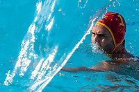 1 LAZOVIC Dejan MNE (Red Cap) <br /> MNE - GRE Montenegro (white caps) vs. Greece (blue caps) <br /> Barcelona 28/07/2018 Piscines Bernat Picornell <br /> Men Final 5th 6th Place  <br /> 33rd LEN European Water Polo Championships - Barcelona 2018 <br /> Photo Andrea Staccioli/Deepbluemedia/Insidefoto