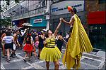 Carnaval de rua. Bloco Unidos do Swing, São Paulo. 2018. Foto de Juca Martins.