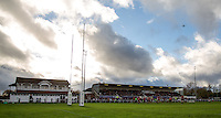 General view during the Greene King IPA Championship match between London Scottish Football Club and Jersey at Richmond Athletic Ground, Richmond, United Kingdom on 7 November 2015. Photo by Andy Rowland.