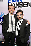 Danny Mefford and boyfriend attends the Broadway Opening Night After Party for 'Dear Evan Hansen'  at The Pierre Hotel on December 3, 2016 in New York City.