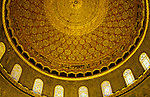Israel, Jerusalem Old City. Dome of the Rock, interior of the Dome &#xA;<br />