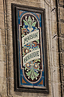 Europe/France/Aquitaine/24/Dordogne/Périgueux: Enseigne pâtisserie: Maison Renaudie dans la vieille ville- Avenue Daumesnil