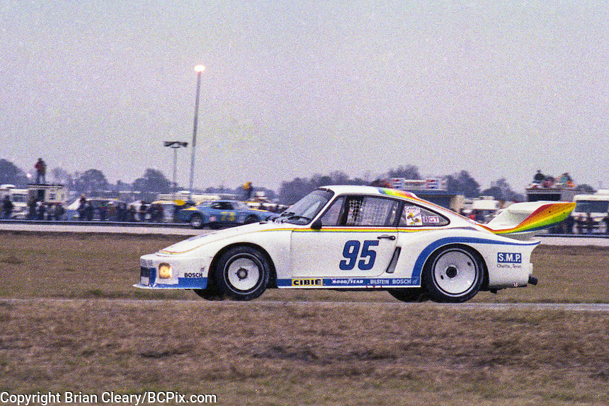 #95 Porsche 935 of Hurley Haywood, Bob Hagestad and Doc Bundy 1978 24 Hours of Daytona, Daytona International Speedway, Daytona Beach, FL, February 5, 1978.  (Photo by Brian Cleary/www.bcpix.com)
