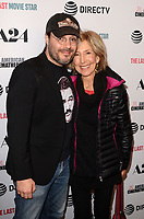 """LOS ANGELES - FEB 22:  Adam Rifkin, Lin Shaye at the """"The Last Movie Star"""" Premiere at the Egyptian Theater on February 22, 2018 in Los Angeles, CA"""