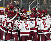 - The Harvard University Crimson defeated the Providence College Friars 3-0 in their NCAA East regional semi-final on Friday, March 24, 2017, at Dunkin' Donuts Center in Providence, Rhode Island.