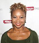 Sheria Irving attends the 'While I Yet Live' Meet & Greet at Primary Stages Rehearsal Studio on September 12, 2014 in New York City