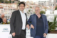 "Romain Goupil (l) and Daniel Cohn-Bendit at the ""La Traversee"" photocall during the 71st Cannes Film Festival at the Palais des Festivals on May 16, 2018 in Cannes, France. Credit: John Rasimus / Media Punch ***FRANCE, SWEDEN, NORWAY, DENARK, FINLAND, USA, CZECH REPUBLIC, SOUTH AMERICA ONLY***"