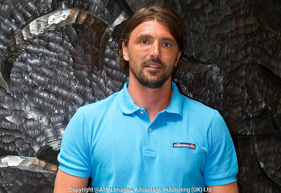GORAN IVANISEVIC at the HYATT HOTEL, Melbourne..27/01/2012, 27th January 2012, 27.01.2012 - Day 12..The Australian Open, Melbourne Park, Melbourne,Victoria, Australia.@AMN IMAGES, Frey, Advantage Media Network, 30, Cleveland Street, London, W1T 4JD .Tel - +44 208 947 0100..email - mfrey@advantagemedianet.com..www.amnimages.photoshelter.com.