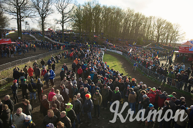 great crowd<br /> <br /> 2014 UCI cyclo-cross World Championships, Elite Men