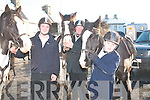 SADDLE POLISH: About to take part in the Kerry hunt club drag hunt, based in Brosna village, last Sunday were l-r: Craig and Thomas McSweeney and Dean Slattery all from Glenflesk.   Copyright Kerry's Eye 2008