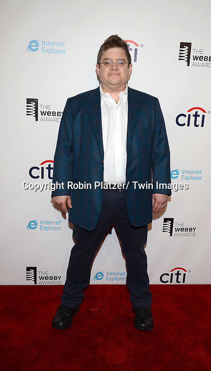Patton Oswalt attends the 17th Annual Webby Awards on May 21, 2013 at Cipriani Wall Street in New York City.