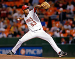 19 May 2007: Washington Nationals pitcher Winston Abreu in action against the Baltimore Orioles at RFK Stadium in Washington, DC. The Orioles defeated the Nationals 3-2 in the second game of the 3-game interleague series...Mandatory Photo Credit: Ed Wolfstein Photo