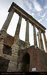 Temple of Saturn 500 BC Forum Romanum Rome