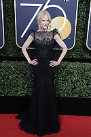 www.acepixs.com<br /> <br /> January 7 2018, LA<br /> <br /> Actress Nicole Kidman arriving at the 75th Annual Golden Globe Awards at The Beverly Hilton Hotel on January 7, 2018 in Beverly Hills, California.<br /> <br /> By Line: Peter West/ACE Pictures<br /> <br /> <br /> ACE Pictures Inc<br /> Tel: 6467670430<br /> Email: info@acepixs.com<br /> www.acepixs.com