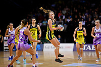 Pulse&rsquo; Maddy Gordon in action during the ANZ Premiership - Pulse v Stars at TSB Arena, Wellington, New Zealand on Monday 13 May 2019. <br /> Photo by Masanori Udagawa. <br /> www.photowellington.photoshelter.com