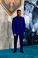 "LOS ANGELES - FEB 21:  John Boyega at the ""Pacific Rim Uprising"" Premiere at the TCL Chinese Theater IMAX on February 21, 2018 in Los Angeles, CA"