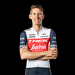 The London Rouleur Classic event provided the venue for today's unveiling of the new Trek-Segafredo men's and women's kits for the upcoming 2020 racing season. Bauke Mollema (NED) models the men's kit. Trek-Segafredo also announced that the partnership with Santini would continue for the next three years. 1st November 2019.<br /> Picture: Trek Factory Racing | Cyclefile<br /> <br /> <br /> All photos usage must carry mandatory copyright credit (© Cyclefile | Trek Factory Racing)