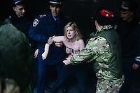 Femen Protest in Simferopol