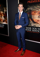 Miles Teller at the premiere for &quot;Thank You For Your Service&quot; at the Regal LA Live Theatre. Los Angeles, USA 23 October  2017<br /> Picture: Paul Smith/Featureflash/SilverHub 0208 004 5359 sales@silverhubmedia.com