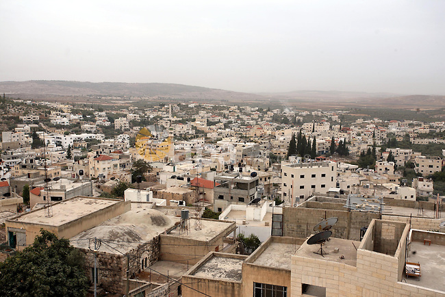 General view to the West Bank village of Beit Lokia, west Ramallah on Oct. 19, 2010. Photo by Eyad Jadallah