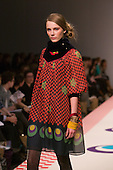 22 February 2009. London Fashion Week. Collection by Eley Kishimoto
