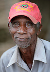 A man in Batey Bombita, a community in the southwest of the Dominican Republic whose population is composed of Haitian immigrants and their descendents.