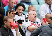 FUSSBALL FIFA Confed Cup 2017 Vorrunde in Sotchi 19.06.2017  Australien - Deutschland  Nur vereinzelt deutsche Fans beim Spiel in Sotschi, Groundhopper aus Bielefeld, Duesseldorf und Koeln