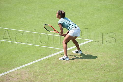 14.06.10 Aegon International Eastbourne, Heather Watson of GBR palying Bojana Jovanovki of SRB Heather won in 3 sets.
