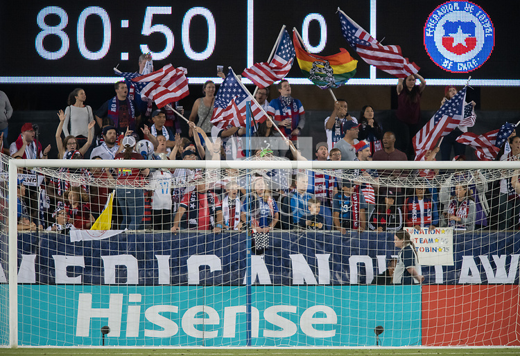 San Jose, Ca - Tuesday, September 4, 2018. USWNT 4-0 over Chile at Avaya Stadium.