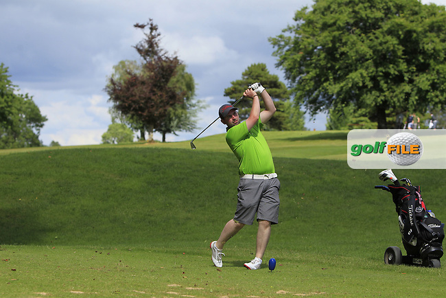 Thomas O'Connor (Athlone) on the 10th tee during Round 4 of the 2016 Connacht Strokeplay Championship at Athlone Golf Club on Sunday 12th June 2016.<br /> Picture:  Golffile | Thos Caffrey
