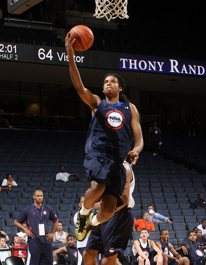 Jordon Goodman at the NBPA Top100 camp June 17, 2010 at the John Paul Jones Arena in Charlottesville, VA. Visit www.nbpatop100.blogspot.com for more photos. (Photo © Andrew Shurtleff)