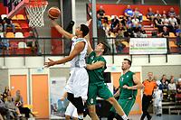 UITHUIZEN - Basketbal , Donar - Groene Uilen met meet en greet na afloop, voorbereiding seizoen 2018-2019, 01-09-2018 Donar speler Arvin Slagter