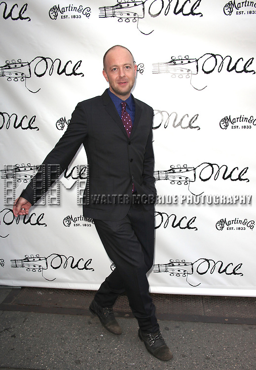 John Tiffany.attending the Broadway Opening Night Performance of 'ONCE' at  the Bernard B. Jacobs Theatre in New York City, 3/18/2012.