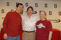 13 November 2005: Tara Vanderveer during Stanford's 92-65 win over Love and Basketball at Maples Pavilion in Stanford, CA.