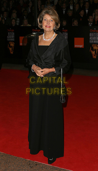 ANNE REID.Bafta Awards - British Academy Awards at Odeon Leicester Square.15 February 2004.full length, full-length.www.capitalpictures.com.sales@capitalpictures.com.©Capital Pictures