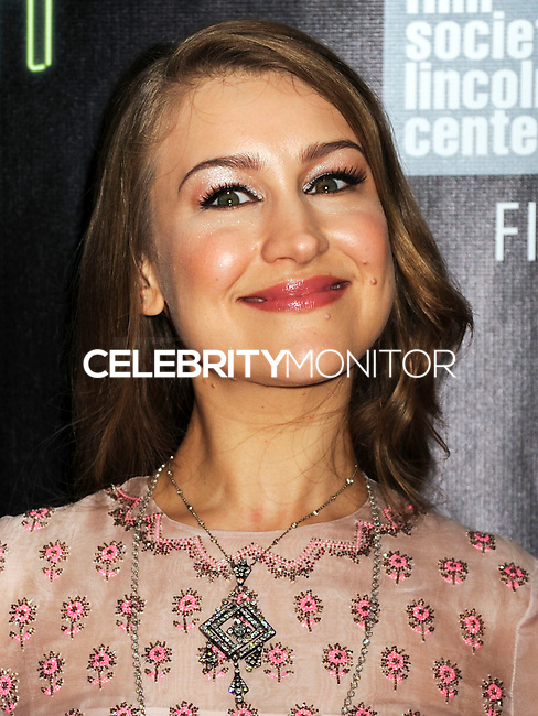 NEW YORK CITY, NY, USA - OCTOBER 04: Joanna Newsom arrives at the 52nd New York Film Festival - 'Inherent Vice' Centerpiece Gala Presentation & World Premiere held at Alice Tully Hall on October 4, 2014 in New York City, New York, United States. (Photo by Celebrity Monitor)