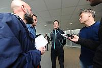 SCHAATSEN: HEERENVEEN: IJsstadion Thialf, Perspresentatie Team After Pay, Jorien ter Mors, ©foto Martin de Jong