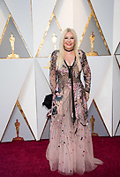 Lady Monika Barcadi arrives on the red carpet of The 90th Oscars&reg; at the Dolby&reg; Theatre in Hollywood, CA on Sunday, March 4, 2018.<br /> *Editorial Use Only*<br /> CAP/PLF/AMPAS<br /> Supplied by Capital Pictures