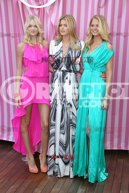 Victoria's Secret Angels Lindsay Ellingson, Doutzen Kroes and Erin Heatherton attend Victoria's Secret Angels Reveal What's Sexy Now at Mr. C Beverly Hills on May 10, 2012 in Beverly Hills, California. ©mpi20/MediaPunch Inc.