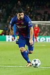 UEFA Champions League 2017/2018 - Matchday 6.<br /> FC Barcelona vs Sporting Clube de Portugal: 2-0.<br /> Luis Suarez.