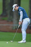 Eun-Hee Ji (KOR) watches her putt on 10 during round 1 of the U.S. Women's Open Championship, Shoal Creek Country Club, at Birmingham, Alabama, USA. 5/31/2018.<br /> Picture: Golffile | Ken Murray<br /> <br /> All photo usage must carry mandatory copyright credit (&copy; Golffile | Ken Murray)