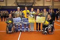 13-12-09, Rotterdam, Tennis, REAAL Tennis Masters 2009,  Beide winnaars en finalistenR