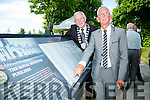 Mayor of Kerry Pat McCarthy and Cllr Sam Locke Unveiled the names of all the people who lost their lives in World War I at the Royal Munster Fusiliers World War I remembrance monument in Ballymullen on Saturday