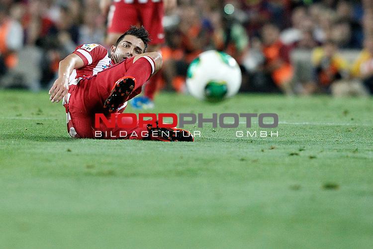 Atletico de Madrid's David Villa during Supercup of Spain 2nd match.August 28,2013. Foto © nph / Acero)